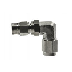 3/8 UNF Female 90 Degree Re-Usable Brake Line Fitting