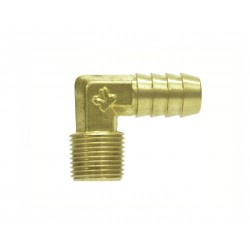 BSPT Male Brass Elbow Hose Tail