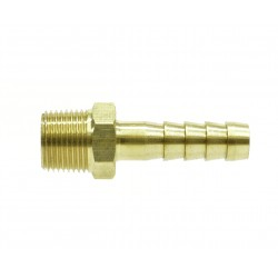BSPT Male Brass Hose Tail